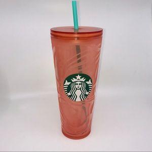 Starbucks Summer 2020 Orange Swirl venti Tumbler